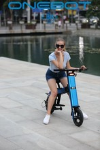 Onebot new product T8 Panasonic bettery folding e bike/folding electric bike/mini bicycle/foldable ebike 250W