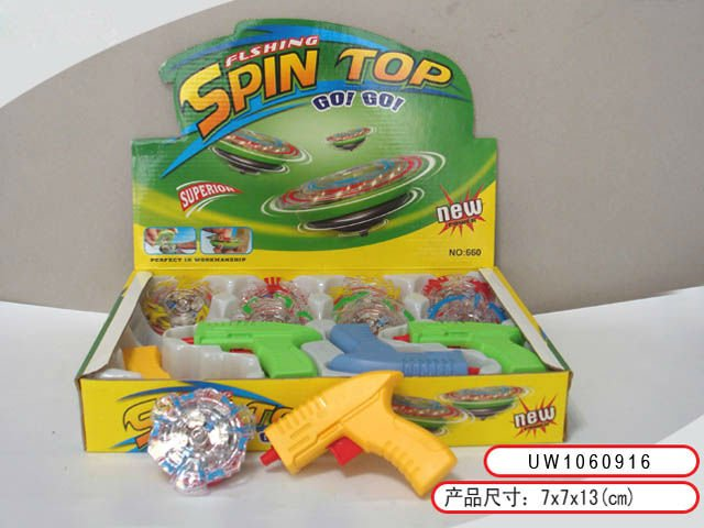 flashing beyblade battle spin top