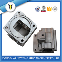 CUSTOM CASTING STAINLESS STEEL WATER METER PIPE FITTING ACCORDING TO DRAWING