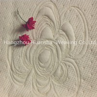 soft 35% rayon 65% polyester jacquard knitting fabric for mattress