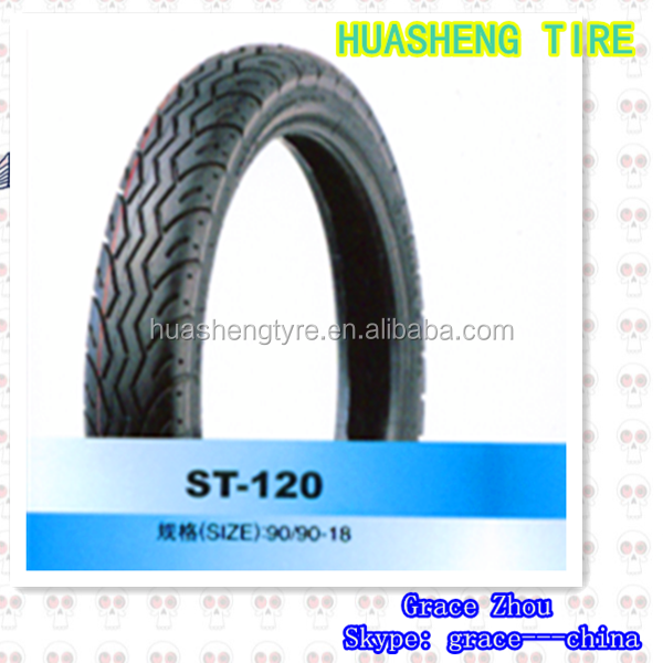 Bias rubber Motorcycle tyre 90/90-18 Tire and Inner tube