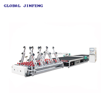 JF-CA CNC float glass production line, galss cutting machine line