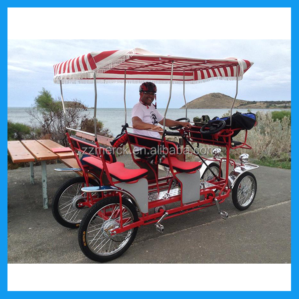 pedal car 4 person quadricycle for sale