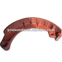 heavy duty auto spare MAZ truck part brake shoe