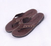 High quality cheap fashion leisure shiny handsome man Flip Flop