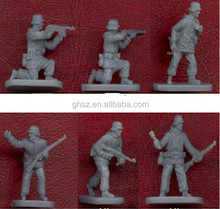 Small soldiers figures plastic toy figures military model