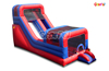 China Top Quality Giant Red & Blue Inflatable Slide with Bouncer for Amusement Park Arena