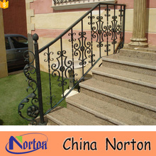 Hot dipped galvanized prefab outdoor metal stair railing NTIS-007A