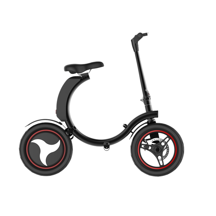 2018 new fashion e bike <strong>folding</strong>, 14inch foldable electric bicycle, folded e-bike