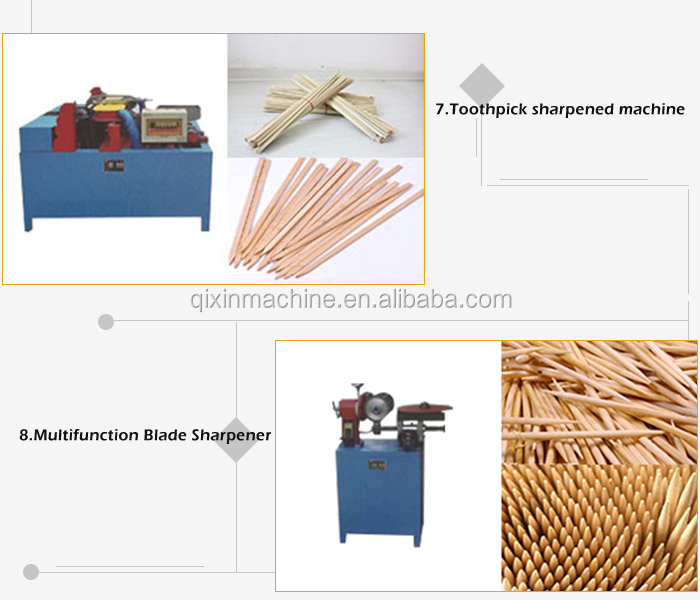 Production line for toothpick wood toothpick making machine price