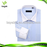 2013 new design men cotton Dress Shirts stripe shirts