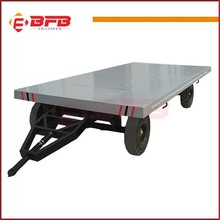 Sino industrial flatbed transfer trailer for transfer material ce approved