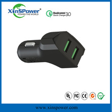 xinspower hot sell 9v 2A portable car battery charger with safety hammer for iPhone for Samsung