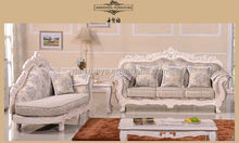 2014 hot sale antique wooden recliner carved chaise luxury sofa sets
