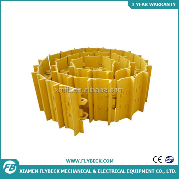 Bulldozer undercarriage parts dozer track shoes track plate for D6R