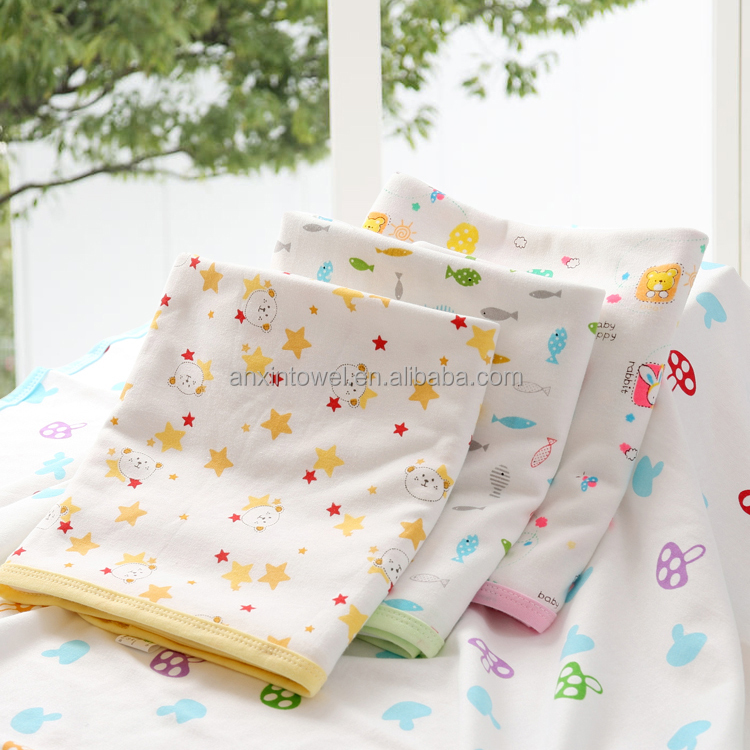 EAswet Spring Popular Large Size Woven 100% Cotton Jacquard Baby Blanket