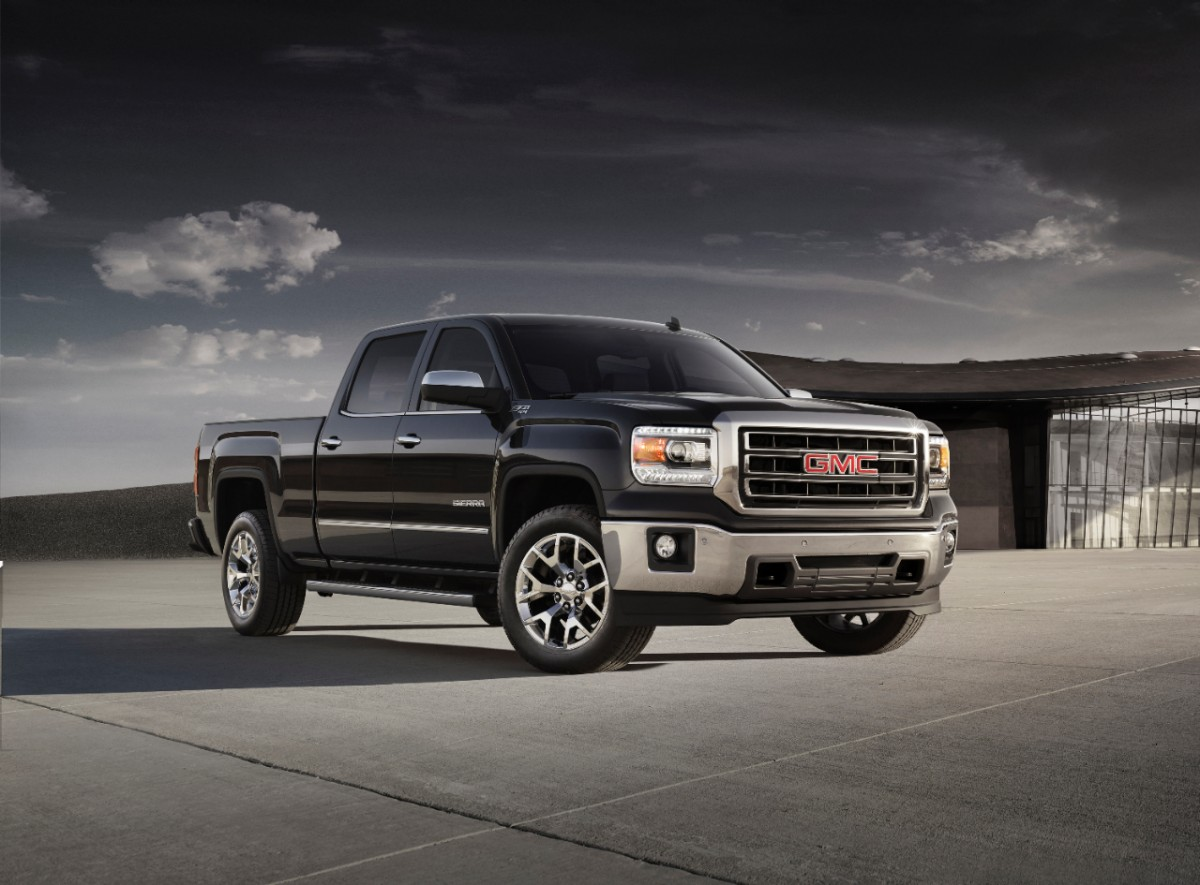 GMC Sierra in right hand drive