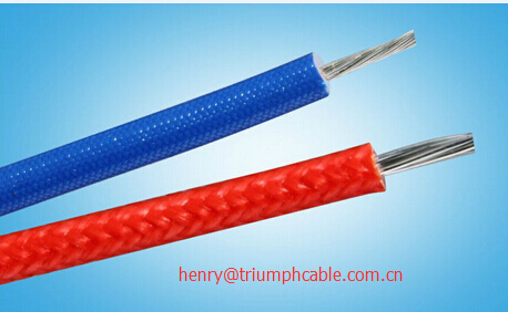 Fiber glass insulated Compensation cable/ type K thermocouple cable