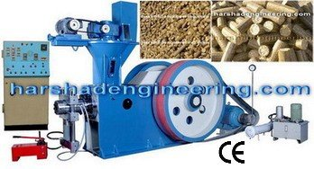 Wood Sawdust Briquetting Machine