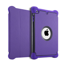 Hybrid Business Style Case for iPad Air 1 Air 2 PC + TPU + PU Leather Flip Cover