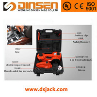 real manufacturer 12v electric jack and wrench with CE