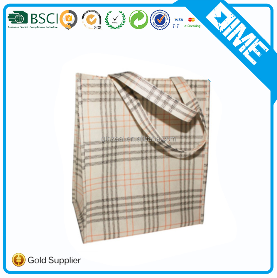 Heavy Duty Carry Bag High Quality Strong Handle Non Woven Bag