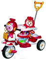 Baby tricycle 2018 baby trike with lovely penguin toys