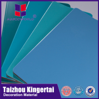 Alucoworld moderate price PVDF PE coated ACP for shpo decoracion aluminum plastic composite panel( for cladding)