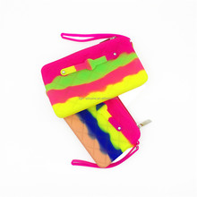 Manufacturer Private Design Silicone Ladies Hand Purse Phone Bag