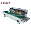 Table type stainless steel horizontal continuous tray sealer