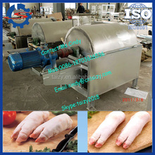 Best selling pig trotter dehairing machine/pig hair removing machine //mob:0086-15838061759
