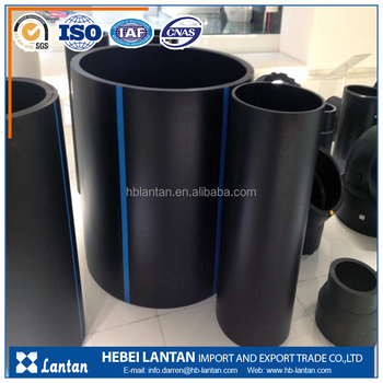 China factory provide best HDPE pipe price list with fittings for water supply
