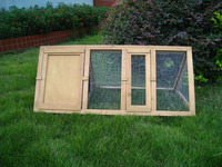 Hot sale prefab wooden dog house