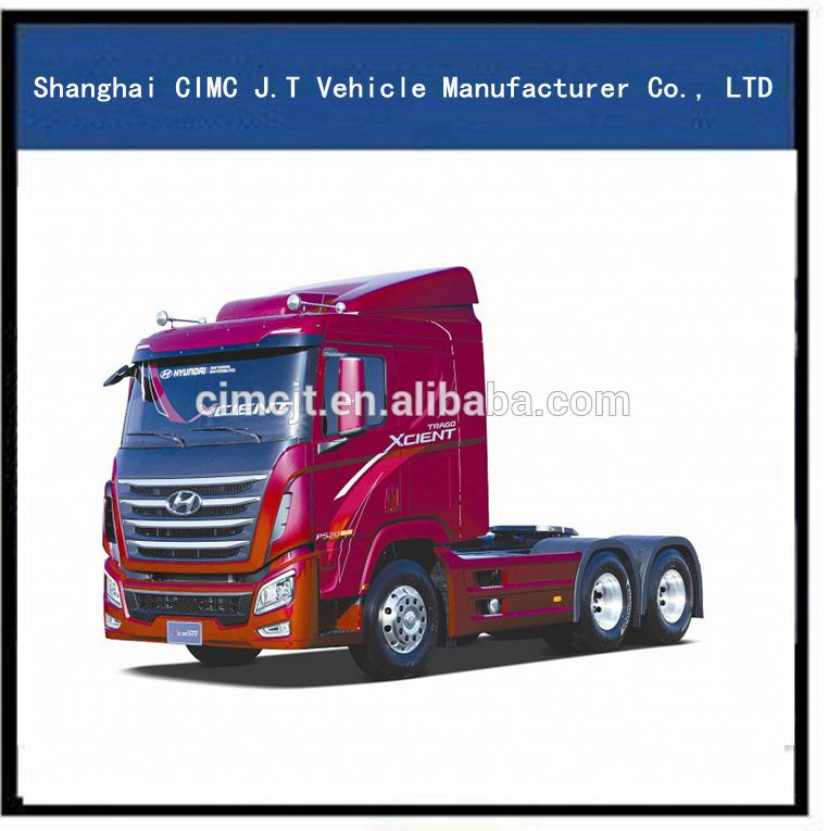 China Hyundai 6*4 tractor truck and truck tractor