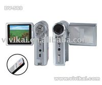 Professional digital camcorder with 2.4 inch LCD &12.0Mega pixel & TV out MP3 and MPEG4 player DV-569