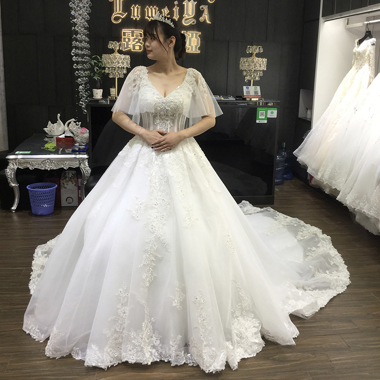 Wholesale fat size wedding gown - Online Buy Best fat size wedding ...