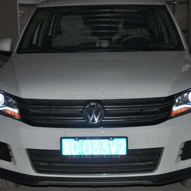 Car accessories VW Tiguan LED head lamp 2010-2012