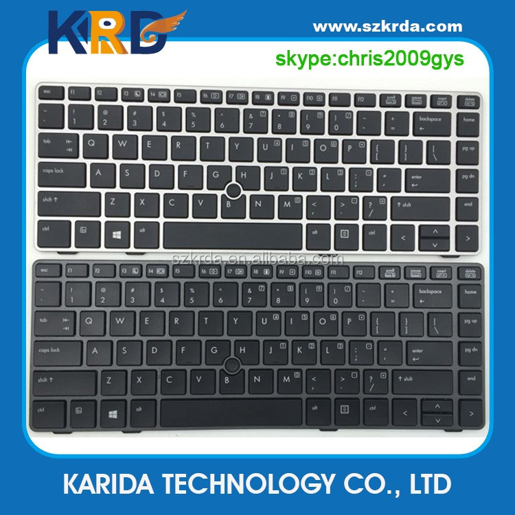 Genuine New laptop internal keyboard for HP 8460P 8460W 6460B 6460 6470 8470 8470B 8470P 8470 notebook keyboard