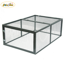 New coming cheap Metal net dog cages pet cat rabbit huntch for run