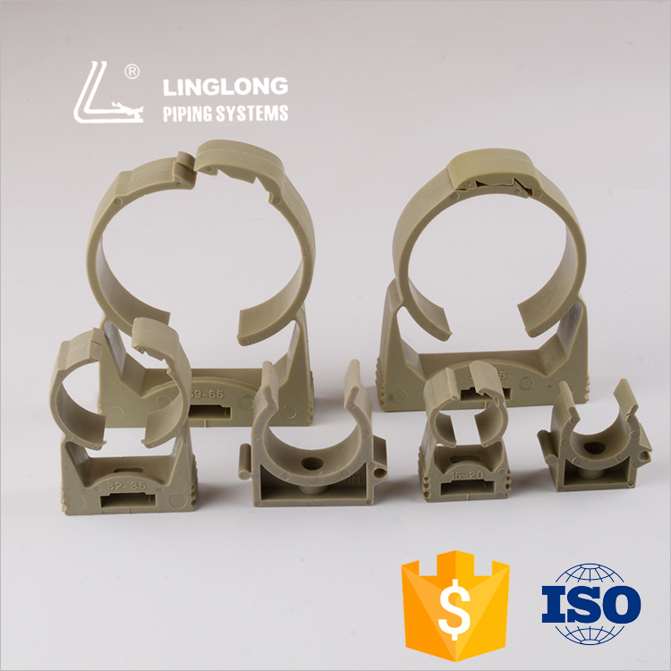 Quality assurance adjustable ppr pipe plastic clamps