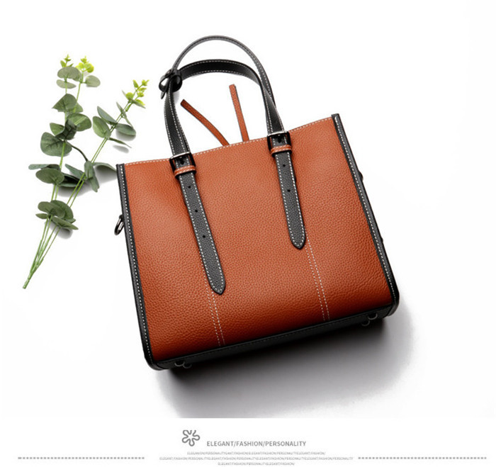 Factory wholesale newest design ladies leather shoulder bag handbag_11