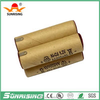 AA ni-cd 600 mAh rechargeable battery 4.8v battery pack