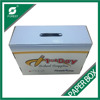 FACTORY CUSTOM CORRUGATED CARDBOARD BOXES SHIPPING BOX HANDLE