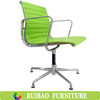 Modern Design High Quality Professional Bucket Seat Office Chair with Orange Leather