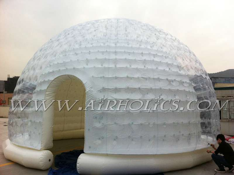 Outdoor wedding big inflatable tent china large custom inflatable led cube tent price for party