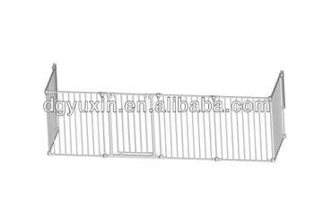 Big metal play yard/Playpen child/Toddler/Baby/Pet/Dog enclosure gate large pen