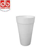 Customized Printing 20OZ White Styrofoam Cup With Lid
