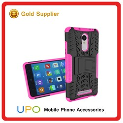 [UPO] High Quality Hybrid Armor Combo Silicon PC Phone Case for Xiaomi Redmi Note 2 pro