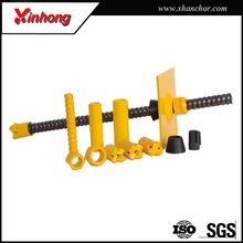 tunneling construction steel hollow anchor bar for Underground Mining