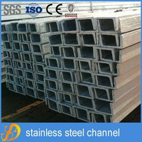 JIS standard galvanized stainless steel u channel dimensions weight chart